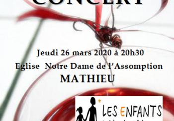 Concert Choeur Grenadine le 26 Mars 2020