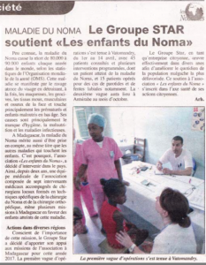 Article Presse soutient STAR